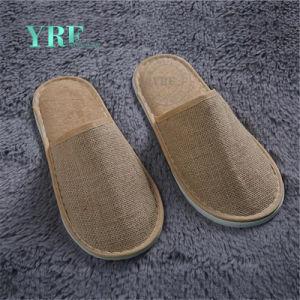 Nueva moda señoras personalizada dormitorio zapatillas oferta hotelera
