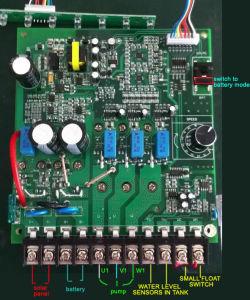 DC MPPTのコントローラが付いているブラシレスモーター500W太陽プールポンプ