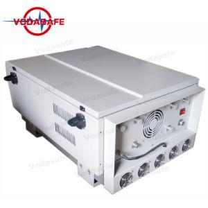 Interferência de alta potência para todas as 6 Bandas de Dispositivo de Rastreamento por GPS Jammer Telefones de interferência de dispositivos sem fio em todos os