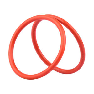 O EPDM NBR SBR Cr o anel preto de borracha de silicone para vedação estático e dinâmico