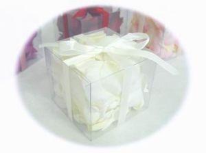 De nieuwe Hete Doos van de Bloemblaadjes W/PVC van het Huwelijk van Producten
