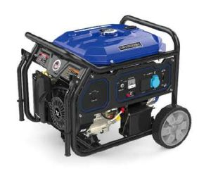 4kw/50Hz AC単一フェーズ携帯用ガソリン発電機Zongshen Lb5000A