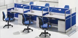 Duradera apariencia moderna estación de trabajo de oficina pequeña para 2 persona (SZ-WS324)