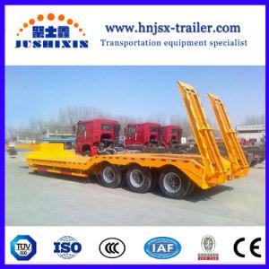 Gelber Wellen-Fabrik-Preis-niedriger Bett-Traktor-Schlussteil der Qualitäts-3