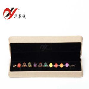 [بو] جلد مجوهرات يعبّئ/تخزين/هبة حل/عقد صندوق
