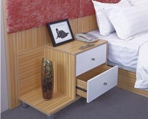 Chambre à coucher Mobilier stratifié moderne hôtel la tête de lit armoire Suite avec le contreplaqué