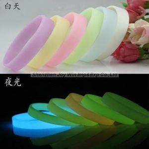 선전용 실리콘 소매끝, Luminate 빛을내는 소맷동