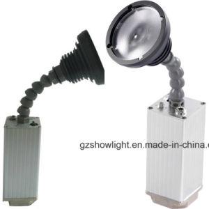 Zoom de 10W Bala LED Etapa inalámbrico alimentado por batería de la luz Pinspot