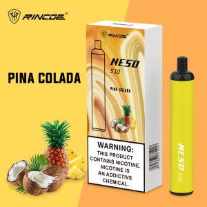 Neso Rincoe S10 cigarette électronique 10 saveurs vaporisateur stylo jetable