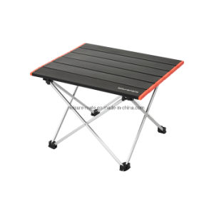 Portátil ligero y compacto de aluminio exterior barbacoa Pesca Senderismo Camp Tamaño S mesa plegable