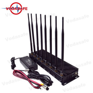 CDMA/GSM/3G2100MHz/4glte Cellphone/Wi-Fi2.4G/Bluetooth/GPS/Glonass/Galileol1l2のために詰め込んでいる高い発電のデスクトップ8のアンテナセルブロッカー