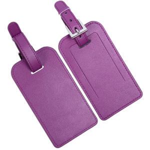 El Sr. y Sra. Nombre del producto etiquetas de equipaje y PU Material de cuero Sr. y Sra. etiquetas de equipaje