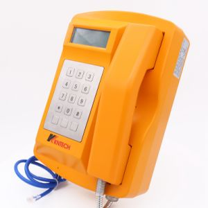 Telefono Emergency industriale resistente all'intemperie sotterraneo di VoIP del parcheggio dell'affissione a cristalli liquidi Knsp-18