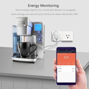 Smart avec la prise de recharge USB WiFi 2.4GHz WiFi Smart Plug