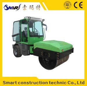 SMT-4.0 건축기계 우수 품질 후방 고무 소형 도로 롤러