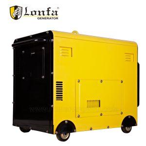 GENERATOR-Set-schalldichter Generator der Qualitäts-3.6kw Silenttype beweglicher Dieselmit Cer ISO9001