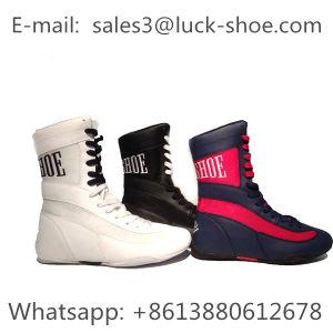 Formador de hombres calzado botas zapatos de lucha de boxeo OEM y ODM.