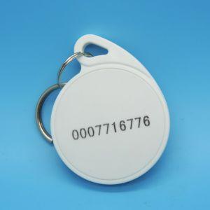 Plastica RFID Keychain dell'anello chiave TK4100 EM4200 dell'hotel per controllo di accesso