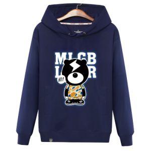 Os homens personalizado suéter de moda de alta qualidade com logotipo da Impressão Blusa com capuz