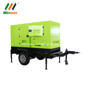 50квт звуконепроницаемых дизельного двигателя электрический генератор для мобильных ПК