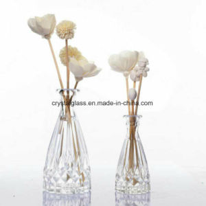 Difusor de óleo de perfume vidro Garrafa com rolha esmerilada