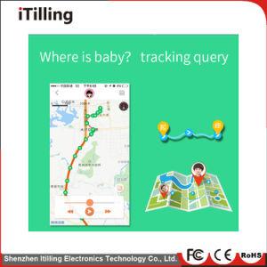 GSM+GPS+Lbs+WiFi Plaats met de Waterdichte GPS van het Ontwerp van de Telefoon van het Zakhorloge van de Functie Slimme Cel van de Drijver Mobiele Telefoon