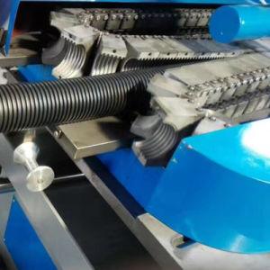 Single-Wall gewölbte teleskopische Strangpresßling-Plastikzeile des Wasser-Rohr-PE-PP-PVC