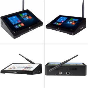Tisch PC Pipo X9s Fernsehapparat-Kasten Win10 Fernsehapparat-Kasten Mini-PC Z8350 Chipset-Digital Fernsehapparat-Empfänger intelligenter Fernsehapparat-Kasten