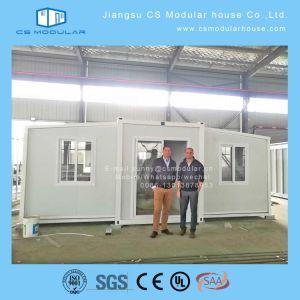 20FTの拡張可能容器の家およびフラットパックの容器の家