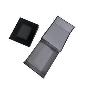Оптовая торговля Custom Print роскошь картон подарочные упаковки магнитное закрытие окна бумаги подарков с жесткой рамой