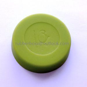 주문을 받아서 만들어진 다채로운 음식 급료 실리콘고무 컵 덮개