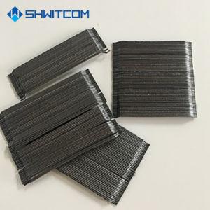 Fibras de aço de alta qualidade com a extremidade em gancho