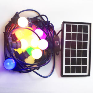 Piscina exterior 25FT Fada Solar decorativa à prova de luz String IP65