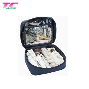 22X8X18cmのポータブルのキャンバス倍の開いたジッパーの引き手が付いている装飾的な旅行袋