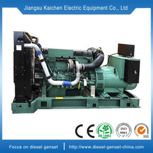 50kw conjunto gerador eléctrico de gasóleo com motor Volvo