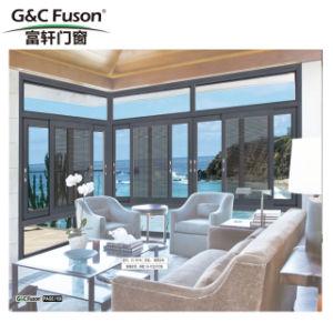 最新のデザイン寝室のための二重ガラスアルミニウムスライディングウインドウ