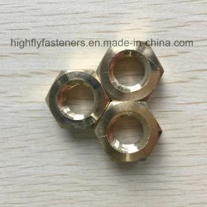 Fixations finition passivée fournisseur DIN934 l'écrou hexagonal en laiton