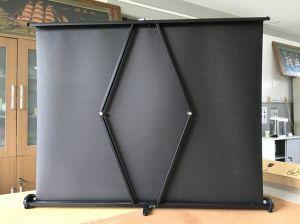 Проекционный экран Портативный проектор верхнего стекла экрана Ts01 50ВМ