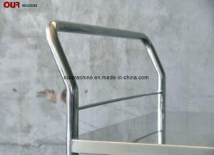 500kg Medical Double-Layer Carrinho de Aço Inoxidável Veículo de Enfermagem do Hospital