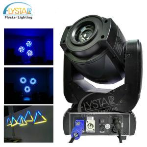 Starkes 75W LED Punkt-Effekt-Muster-beweglicher Kopf für Verein
