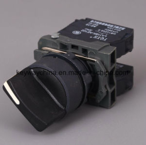 22mmのセリウムが付いている6V-380Vハンドルヘッド押しボタンスイッチは証明した