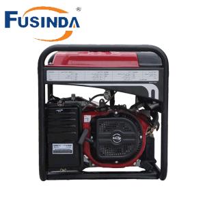 5kw手の携帯用単一フェーズガソリン発電機
