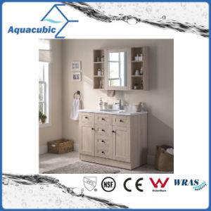 2 Türen und 5 Fach-Furnierholz-Badezimmer-Eitelkeit (ACF8905)