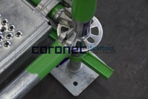 ANSI/AS/NZS/EN12811 Ringlock con certificación de Ledger/Horizontal andamio
