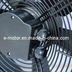 Ventilateur axial, moteur à rotor externe