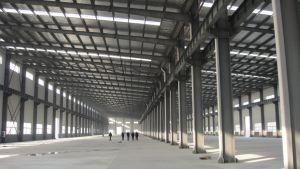 Gruppo di lavoro prefabbricato della pianta di edilizia della struttura d'acciaio