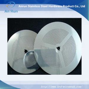 Выгравированный Plateas из нержавеющей стали для фильтра
