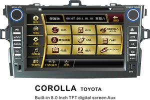 붙박이 8  Toyota Corolla를 위한 TFT Screen Car DVD GPS Navigation