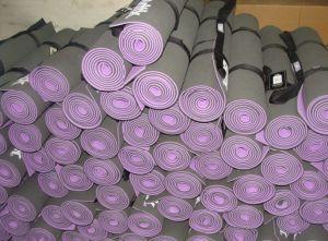 Pido doppelte Farbe umweltfreundliche Belüftung-Yoga-Matten