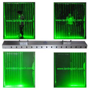 Зеленый жир лазерного луча освещение, Disco фонари